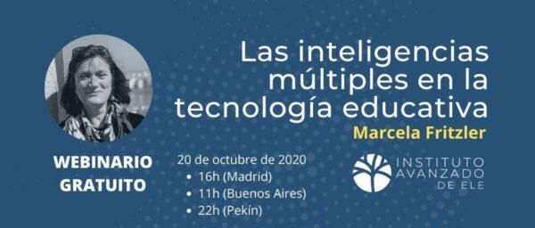 Webinario gratuito: las inteligencias múltiples en la tecnología educativa