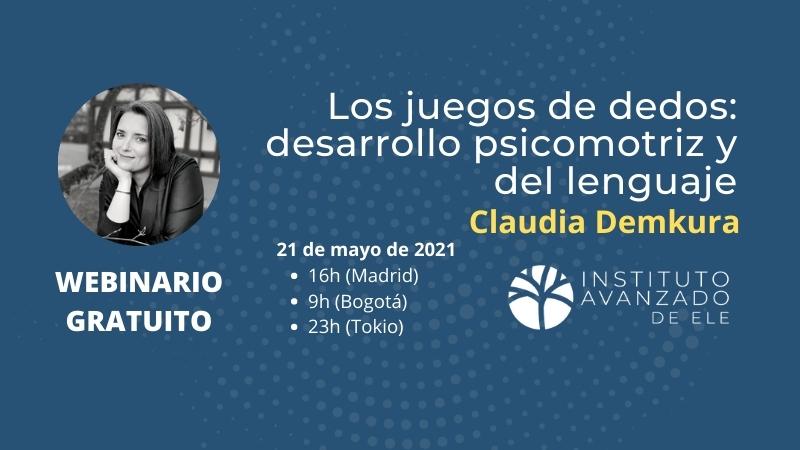 Webinario gratuito con Claudia Demkura